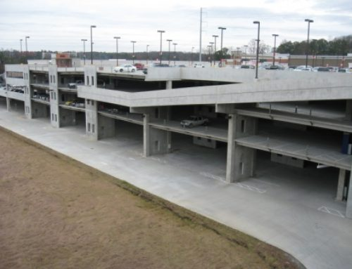 THE PRADO RE-DEVELOPMENT PARKING DECK